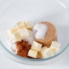 Рецепт Маффины с посыпкой и ванильной глазурью