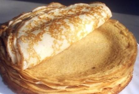 Блинчики с ветчиной и сыром - фото шаг 2