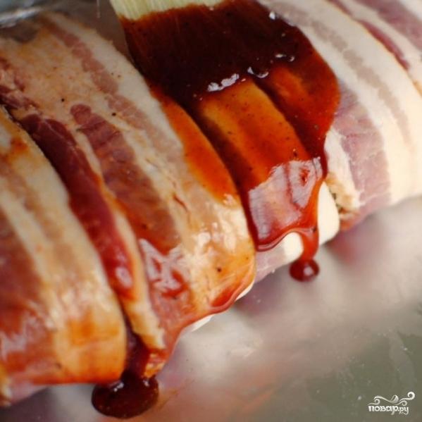 Классический мясной рулет - фото шаг 8