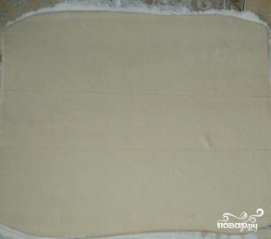 Слоеный сырный пирог - фото шаг 4