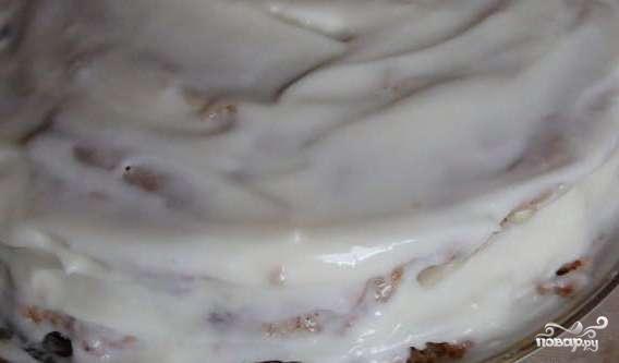 Торт миндальный - фото шаг 6