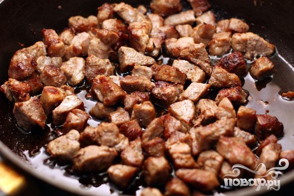 Рис со свининой, омлетом и овощами - фото шаг 3