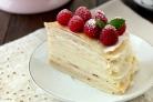 Блинный торт с заварным кремом