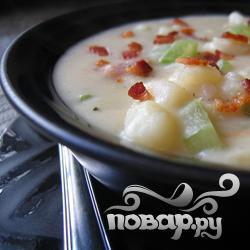 Самый вкусный  картофельный суп