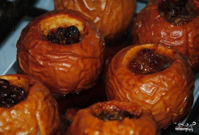 Запеченные яблоки в духовке с сахаром рецепт с пошагово в духовке