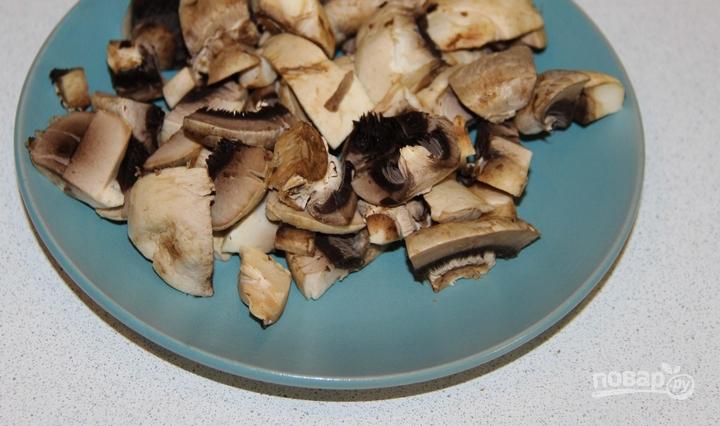 Картошка, тушенная с шампиньонами в сметане - фото шаг 4