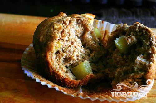 Яблочные маффины - фото шаг 5