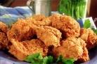 Курица в сухарях