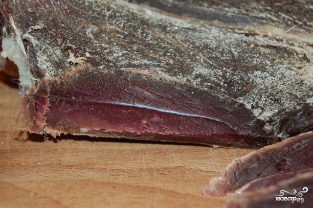 Рецепт Вяленая баранина в домашних условиях