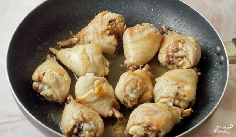 Курица по-кабардински - фото шаг 2