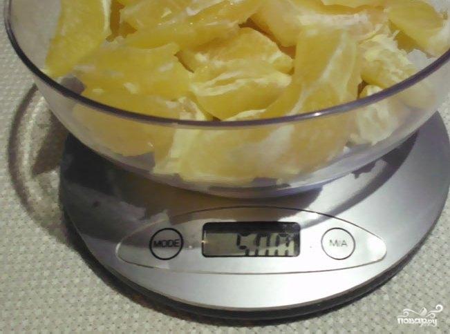 Апельсиновое варенье в хлебопечке - фото шаг 1