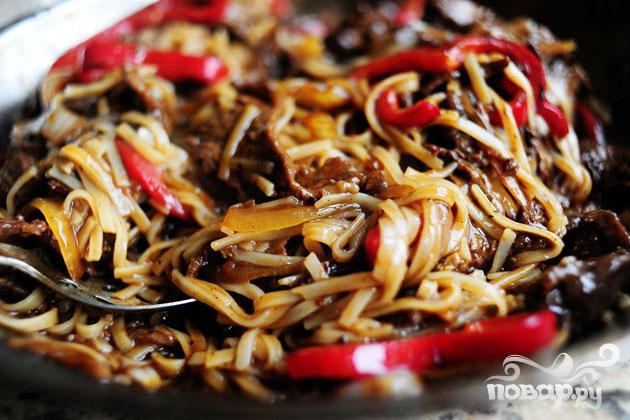 Говядина с перцем по азиатски  - фото шаг 5