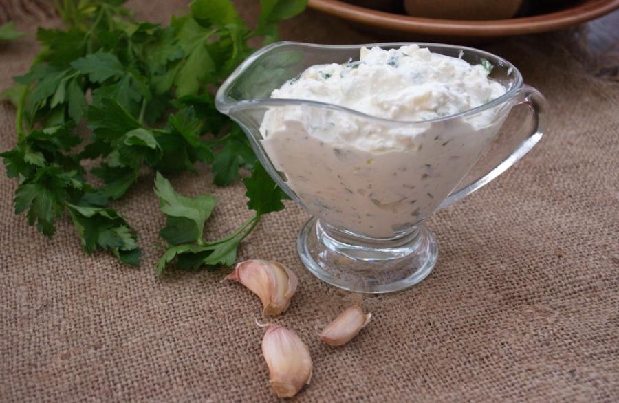 Соус из йогурта к курице - фото шаг 5