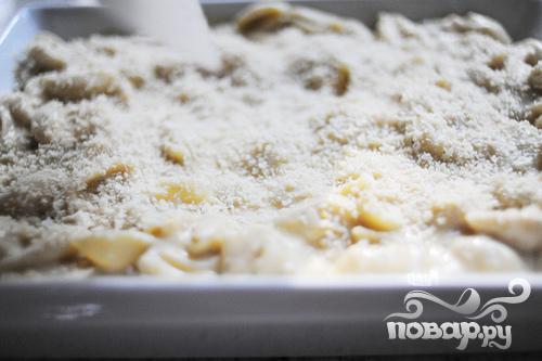 Паста с помидорами, сыром и панировочными сухарями - фото шаг 5