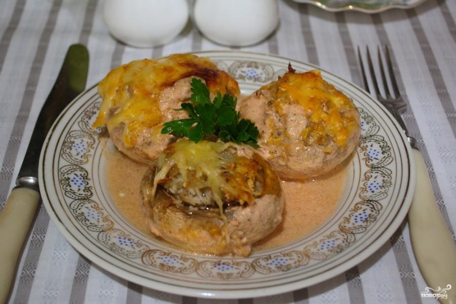 Фаршем и грибами рецепт с фото в домашних условиях
