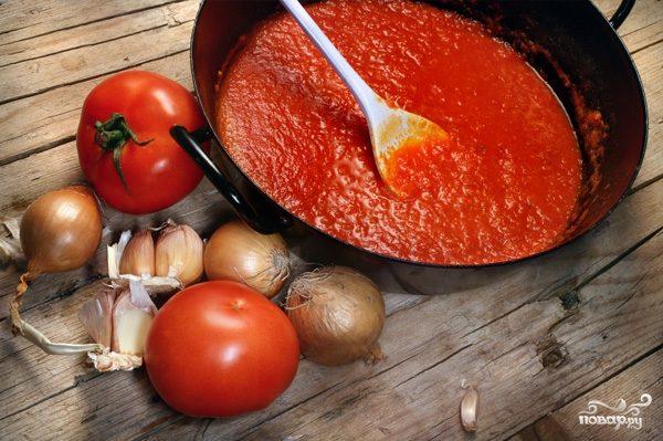 Рецепт Домашний томатный соус на зиму