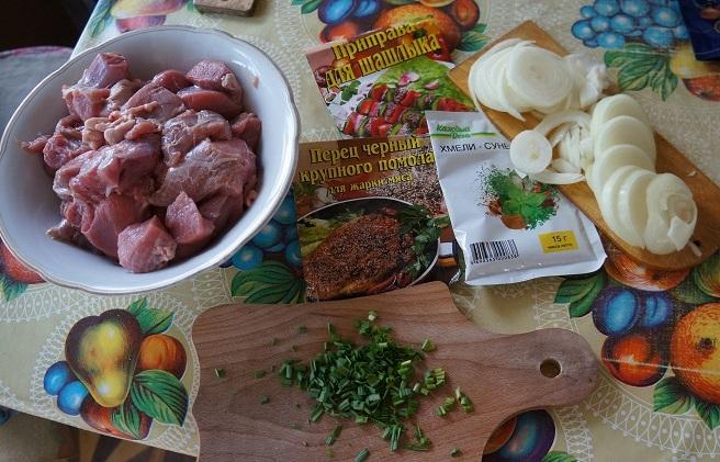 Рецепт Шашлык из телятины