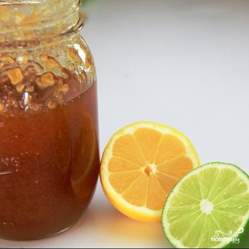 Фруктовый салат с медовым сиропом - фото шаг 2