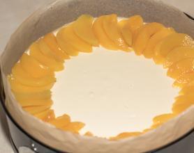 Чизкейк без выпечки с фруктами - фото шаг 8