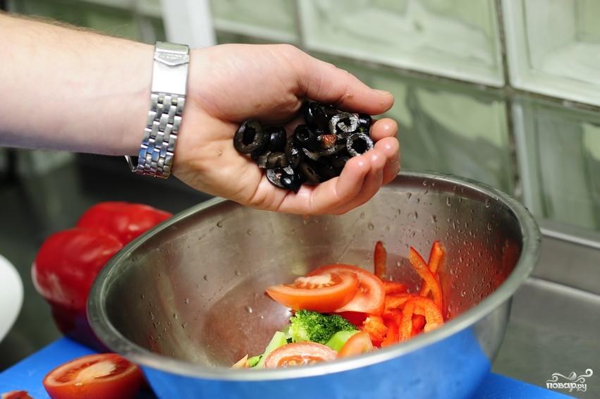 Салат из капусты брокколи - фото шаг 6