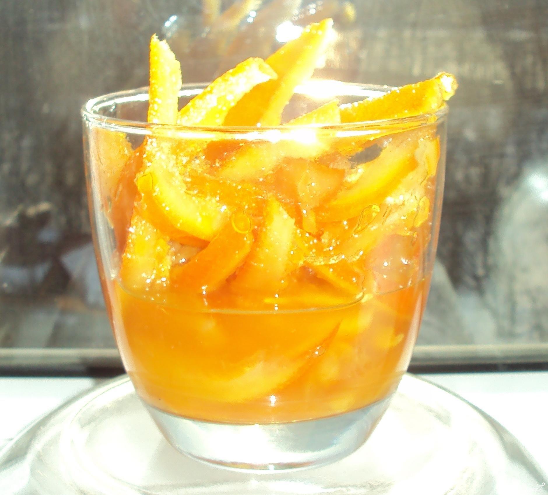 Рецепт Цукаты из лимонных корок
