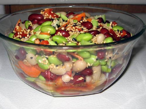 Тройной бобовый салат - фото шаг 12