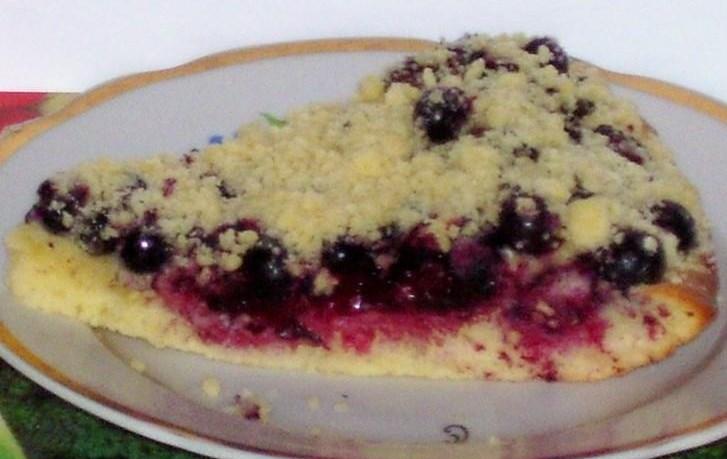 Сметанный пирог со смородиной - фото шаг 6