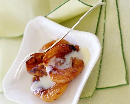 Рецепт Абрикосовый десерт со сгущенным молоком