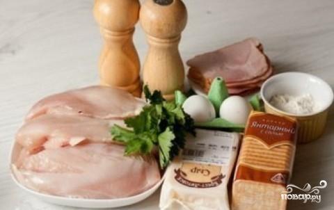 Рецепт Котлеты по-киевски с сыром