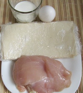 Рецепт Волованы с курицей