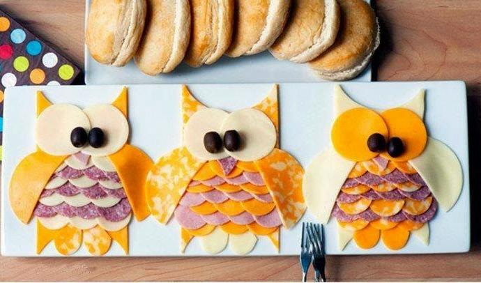Бутерброды на день рождения ребенка - фото шаг 6