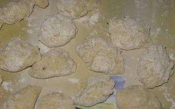 Клецки картофельные с мясом - фото шаг 4