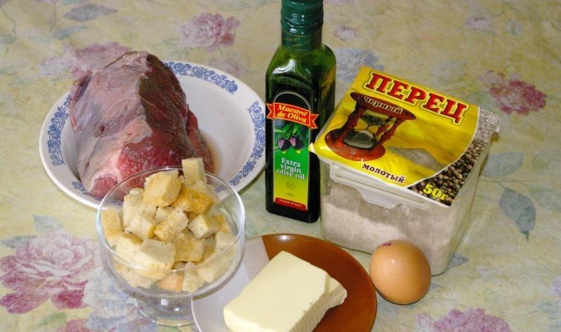 Ромштекс из говядины в духовке - фото шаг 1