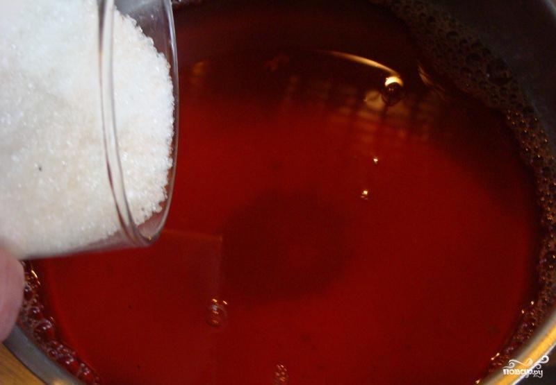 Желе из клубники - фото шаг 3