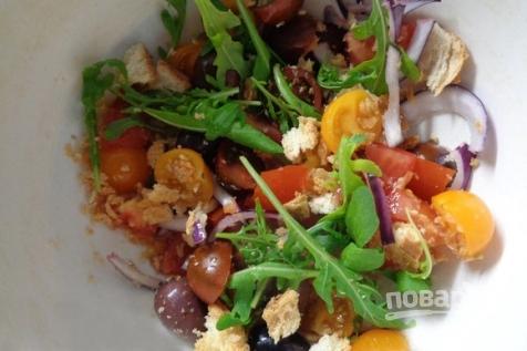 Салат тосканский - фото шаг 8