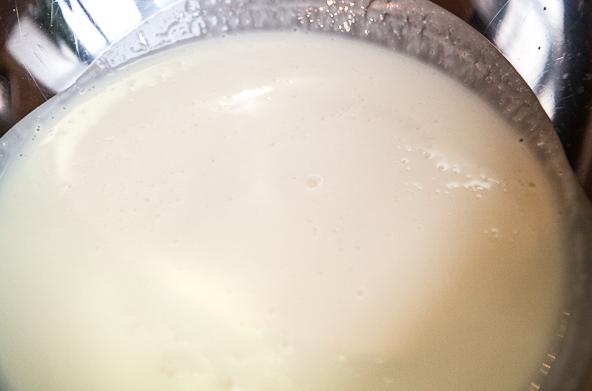 Тесто на кефире с капустой - фото шаг 1