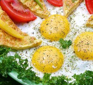 Рецепт Яичница по-румынски