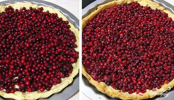 Cлоеный пирог с брусникой - фото шаг 2