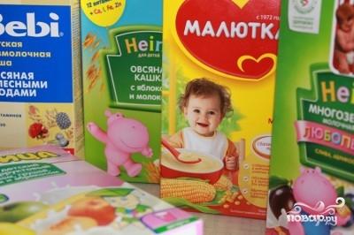 Печенье из детского питания - фото шаг 1