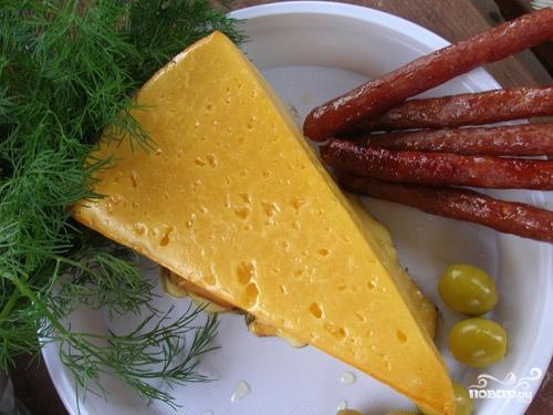 Сыр копченый в домашних условиях