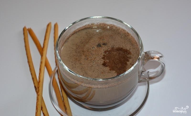 Горячий шоколад из кэроба
