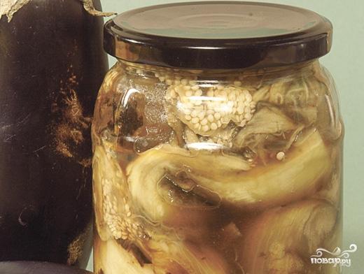 Рецепт Печеные баклажаны на зиму