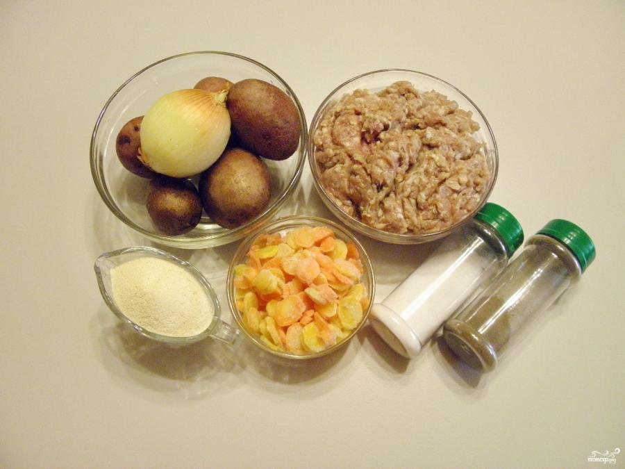 Картофельный суп с фрикадельками - фото шаг 1