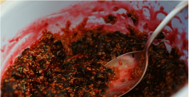 Рецепт Пюре из черной смородины