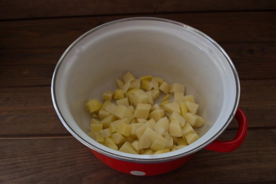 Рецепт Диетический грибной суп с шампиньонами