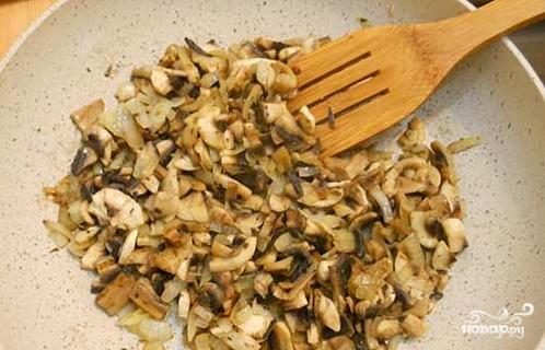 Индейка с грибами в духовке - фото шаг 1