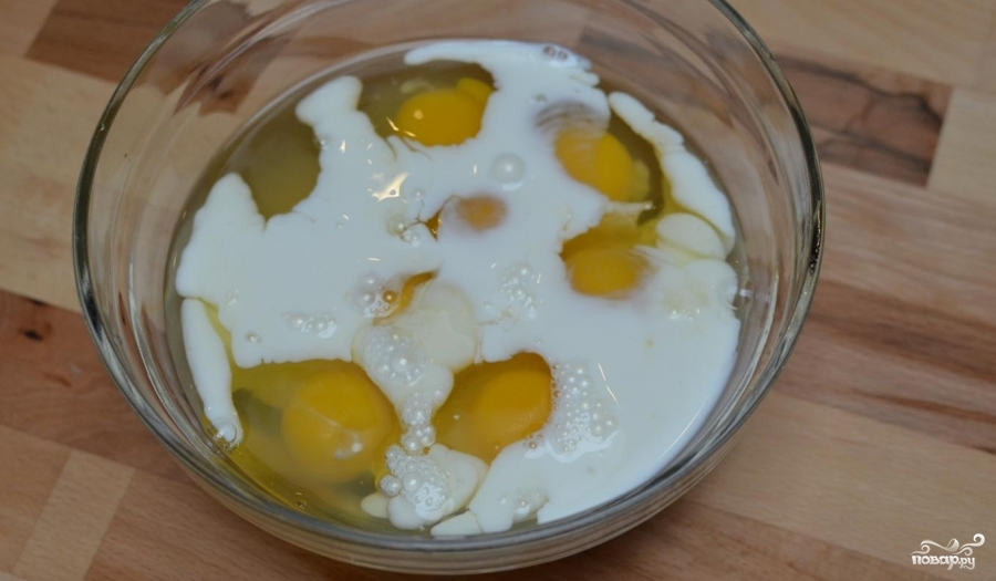 Рецепт Рулет из омлета с сыром