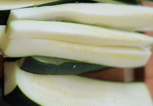 Рецепт Кабачковые палочки в сырном кляре
