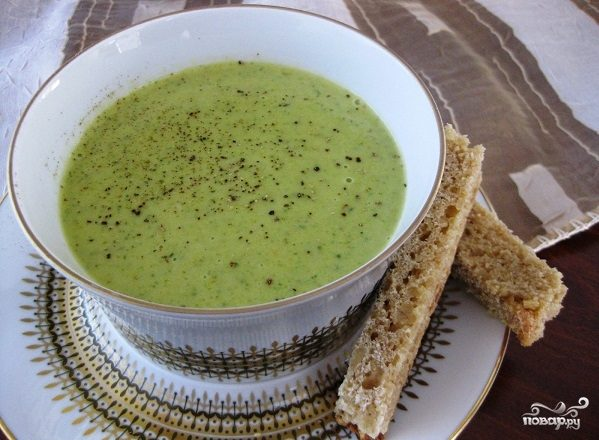 Постный картофельный суп