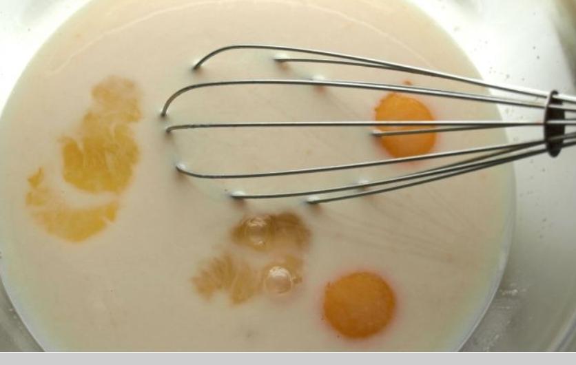 Рецепт Блины на манке с дрожжами